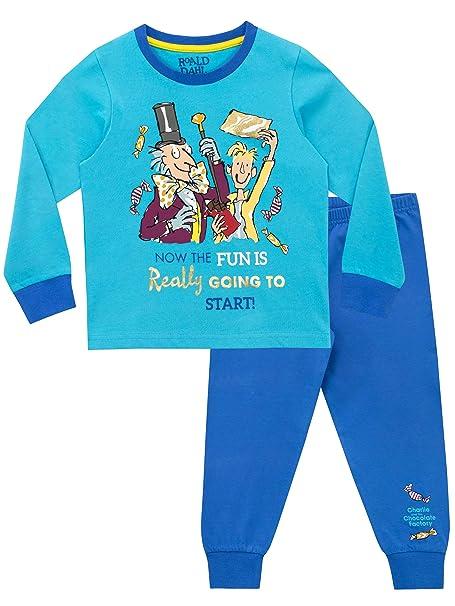 Roald Dahl Boys Charlie and The Chocolate Factory Pyjamas