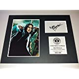 Alan Rickman Signed Autograph Display - Severus Snape - Harry Potter - Mounted and Ready to be Framed