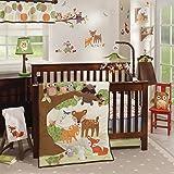 Amazon.com : Lambs & Ivy 5 Piece Bedding Set, Enchanted