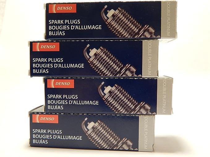 Amazon.com: 4 PCSNEW -- DENSO #3128 -- DOUBLE PLATINUM Spark Plugs -- PK20R11: Automotive