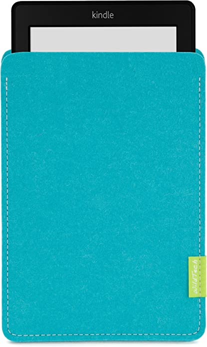 Wildtech Sleeve Für Kindle Paperwhite 17 Farben Handmade In Germany Türkis Kindle Shop