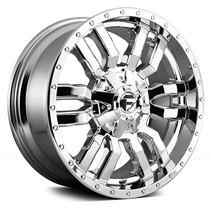 Amazon Com 20 Inch Fuel D631 Sledge 20x9 8x180 20mm Chrome Wheel