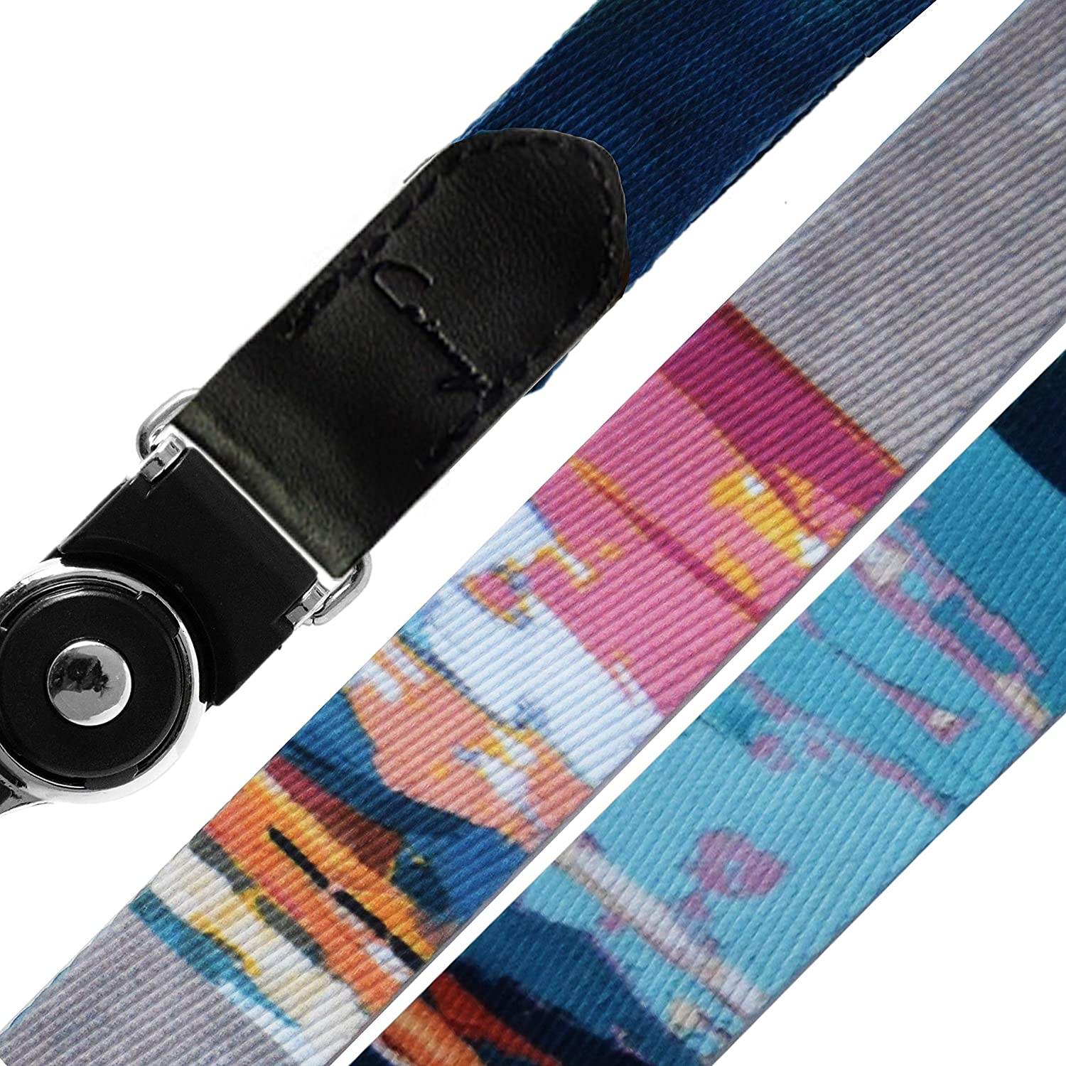 iPod Double Sided Neck Strap Band Lanyards for Camera Cell Phone USB Crimmy Detachable Cell Phone Neck Lanyard 010 Flash Drive Universal
