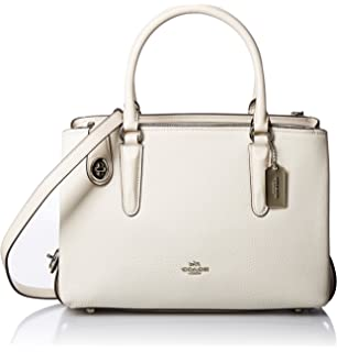 Amazon.com: Coach Bailey Carryall de cuero de Crossgrain ...