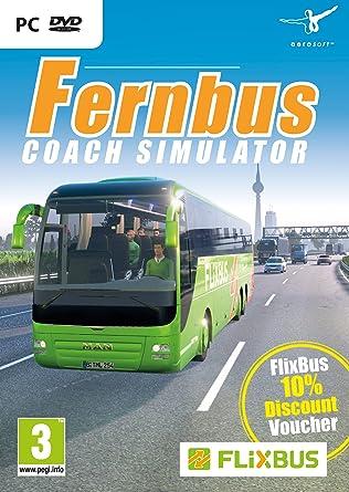 amazon fernbus coach simulator pc dvd 輸入版 ゲーム