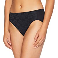 Jockey Women's Underwear No Ride Up Lace Hi Cut Brief