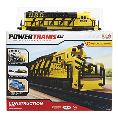 Power Trains Engine Pack #3 - by Jakks Pacific Train Engine: Toys & Games