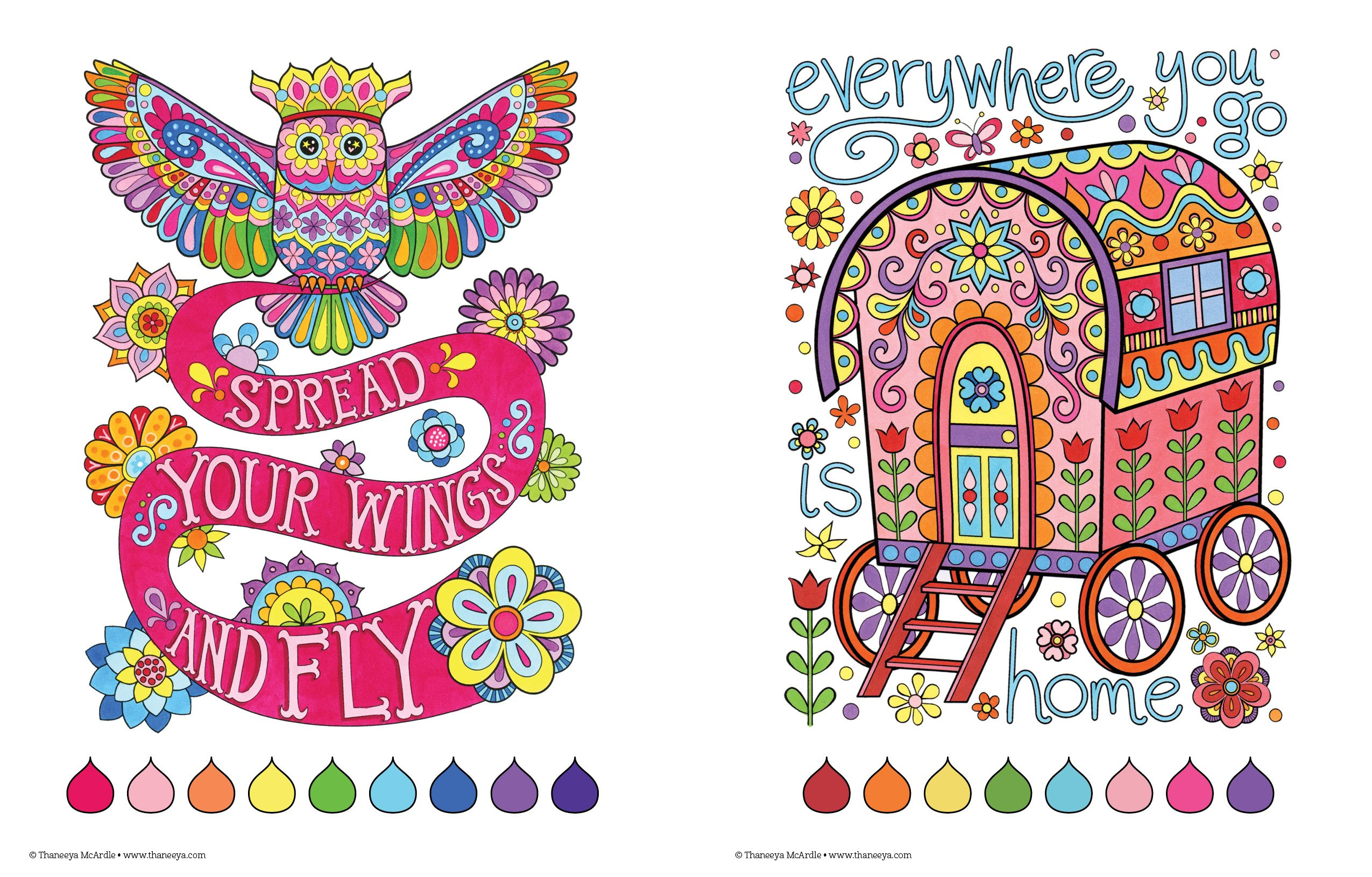 Free spirit coloring book by thaneeya mcardle coloring books by - Amazon Com Free Spirit Coloring Book Coloring Is Fun 0023863055321 Thaneeya Mcardle Books
