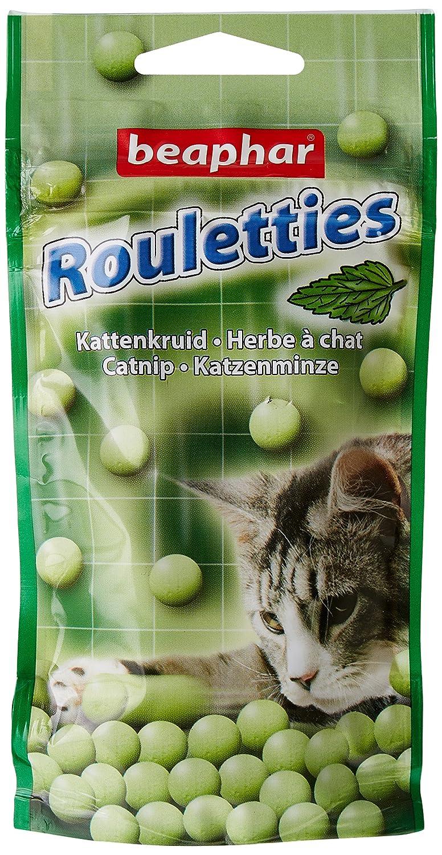 Beaphar - Friandises Rouletties à l'herbe à chat - chat - 44, 2 g 10553 friandise chat friandises chat