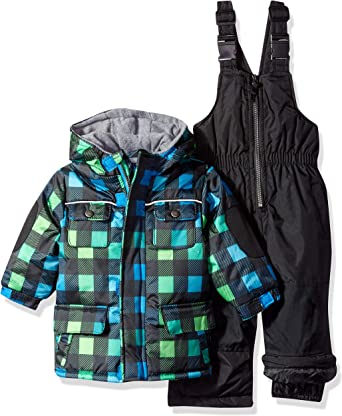 Wippette Baby Boys /& Toddler Insulated Two-Piece Snowsuit
