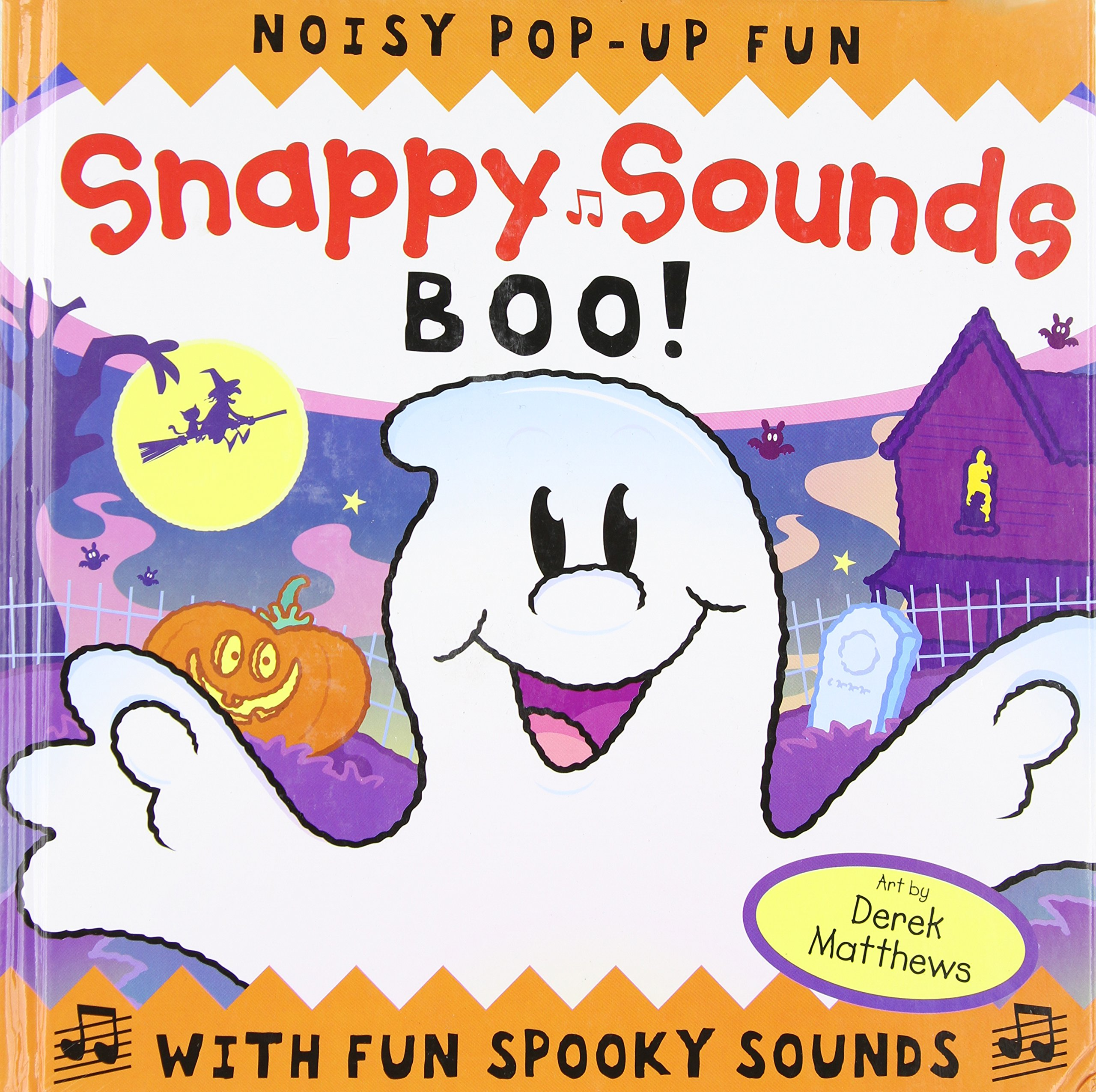 Amazon com: Snappy Sounds: Boo! Noisy Pop-Up Fun with Fun