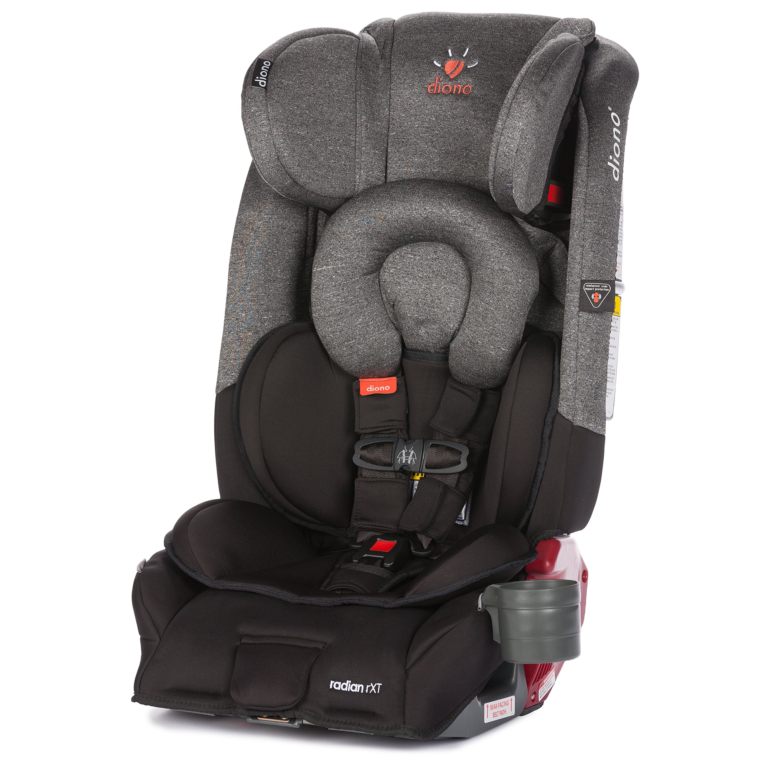 diono monterey xt booster car seat 40 120 lbs baby. Black Bedroom Furniture Sets. Home Design Ideas