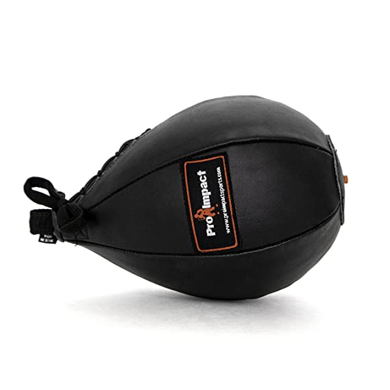 Durable Hanging Swivel Punch Ball For Boxing Mma Pro Impact Durahide Speedbag