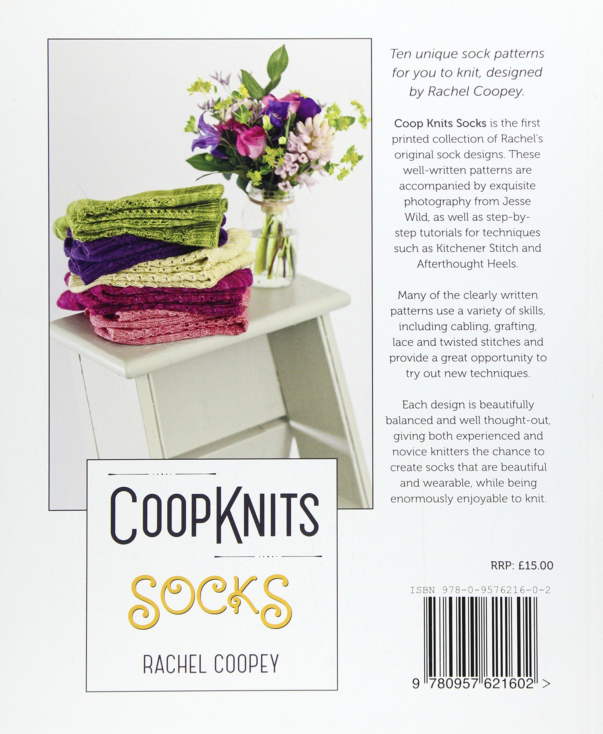 Coop Knits Socks: Rachel Coopey: 9780957621602: Amazon.com: Books