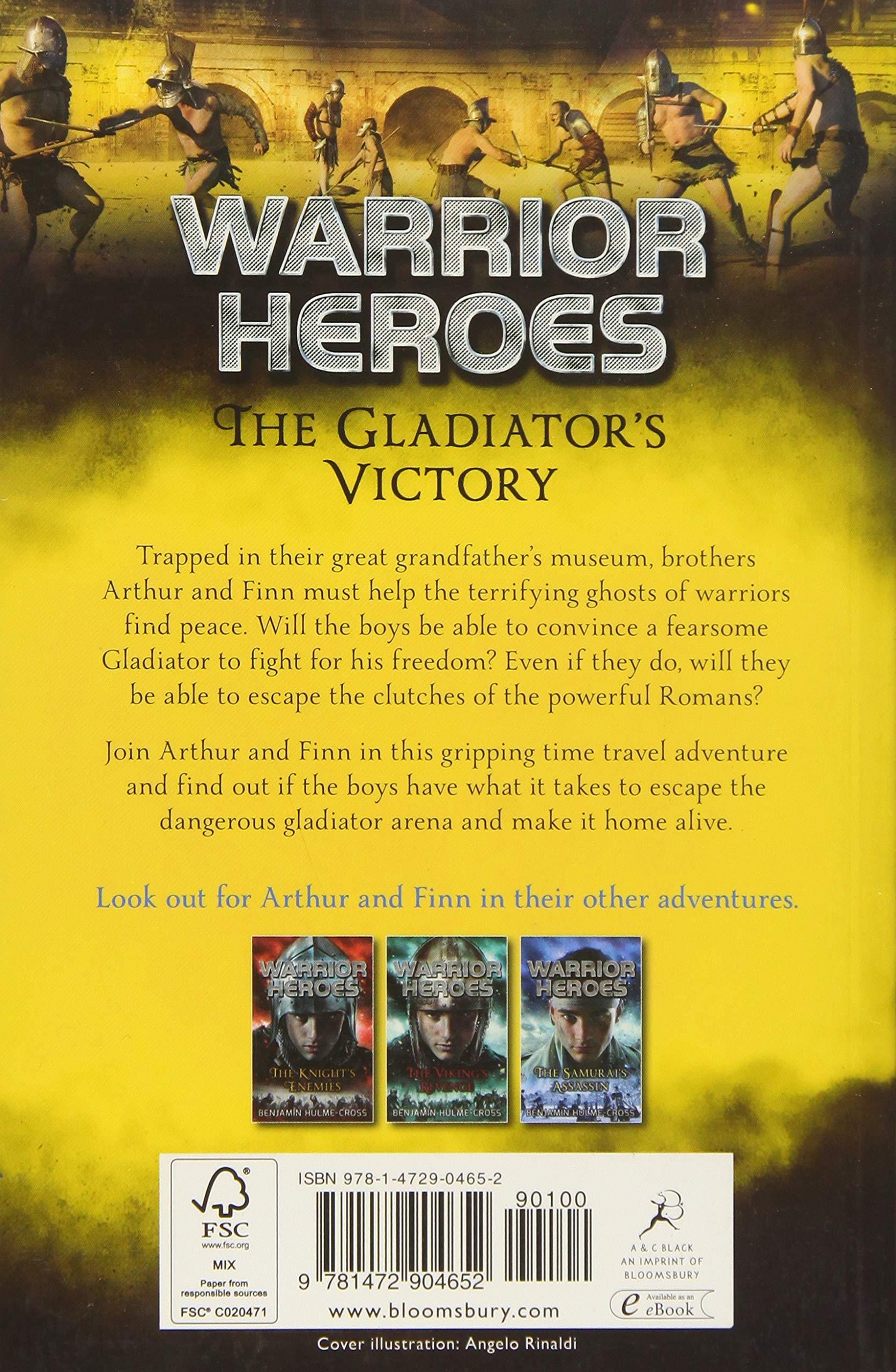Image result for warrior heroes the gladiators victory book cover