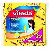 Vileda 142078 - Bayeta smarilla style (3 unidades) - [Pack de 5]