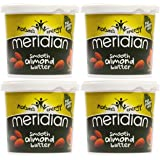 (4 PACK) - Meridian - Natural Almond Butter Smooth | 1000g | 4 PACK BUNDLE