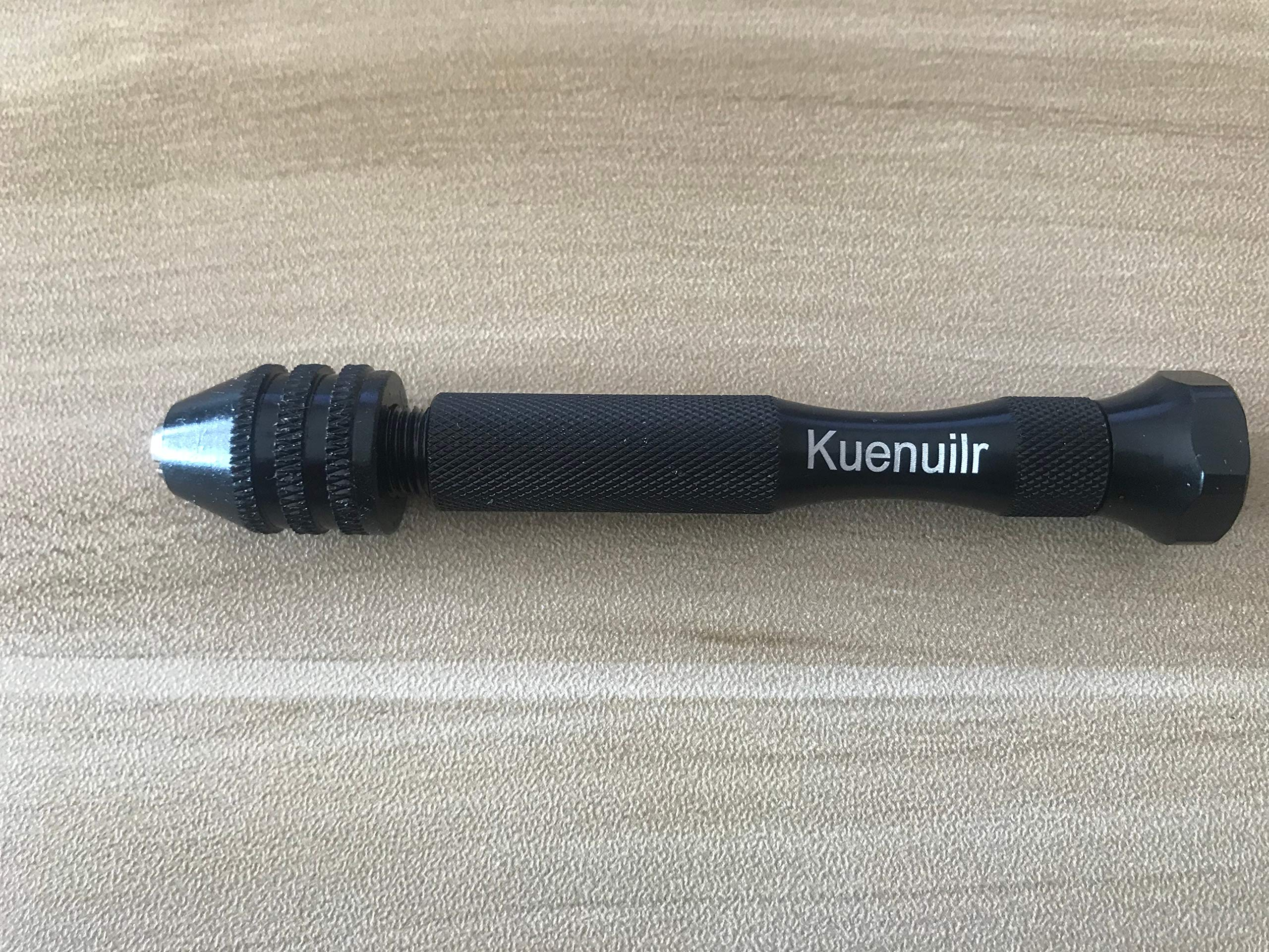 Kuenuilr Pin Vise Hand Drill with Twist Drill Bits