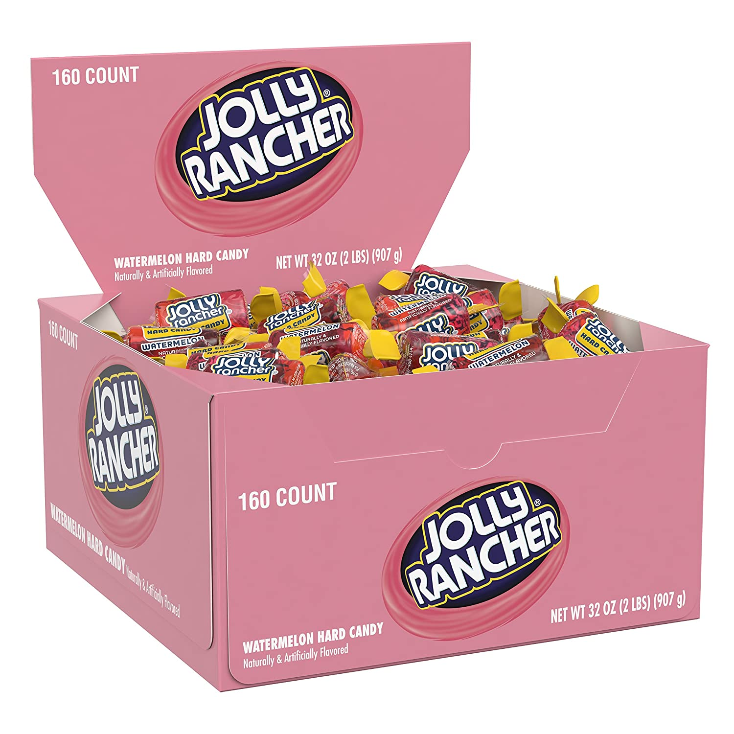 JOLLY RANCHER Hard Candy, Watermelon, 160 Count
