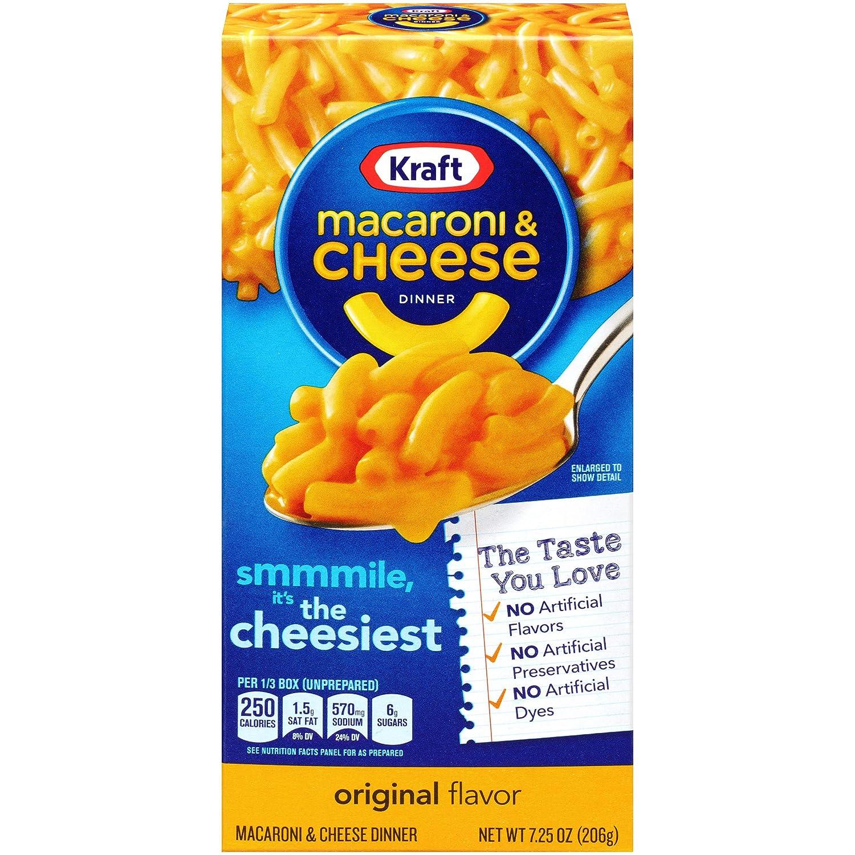 Kraft Macaroni & Cheese, Original, 7.25 oz