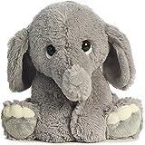 Aurora Lil Benny Grey Elephant 10-Inch Stuffed Animal