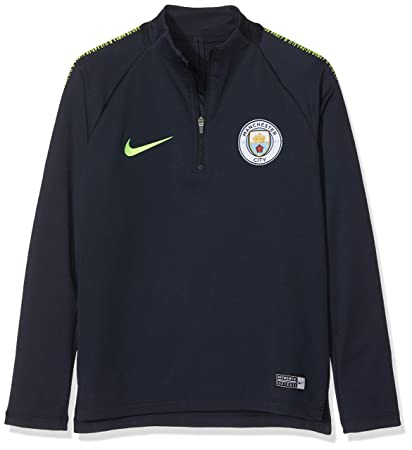 ef57de09 Image Unavailable. Image not available for. Color: Nike 2018-2019 Man City  Squad Drill Training Top ...