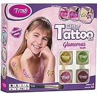 Kit de Tatuajes con Purpurina, Tatuajes temporales Tatuajes