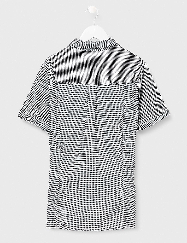 D48 Blue-Bianco CMP Damen Elastisches Kurzarmshirt Hemd mit Dry Function Technologie