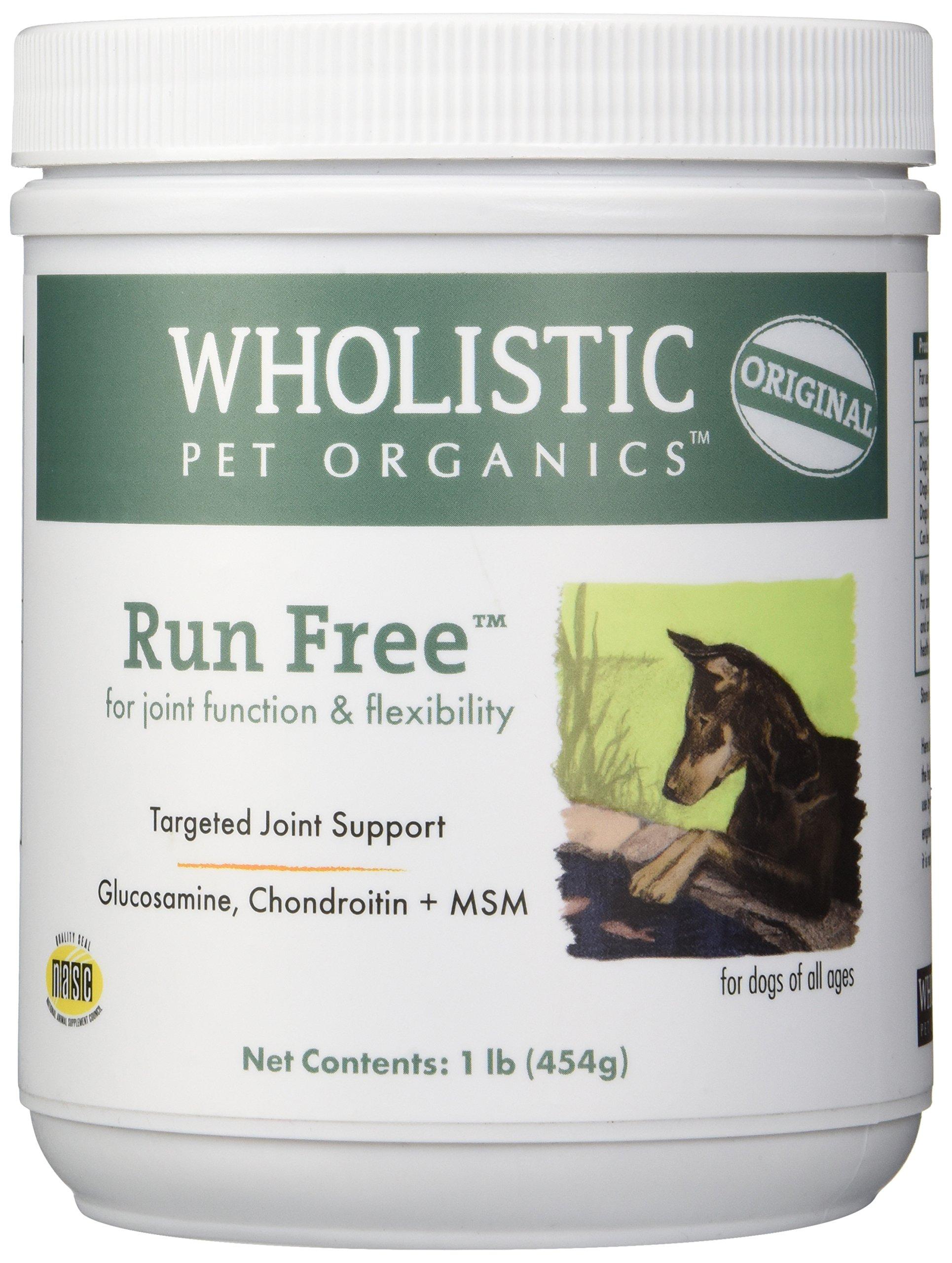 Wholistic Pet Organics Run Free Supplement, 1 lb