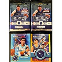 $39 » NEW 2 FACTORY SEALED Basketball Card Packs of 2020 - 2021 Panini Contenders NBA Basketball with 8 Cards Per Pack - Look for…