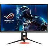 """ASUS PG27VQ 27"""" Wide Quad HD LED Courbé Noir écran Plat de PC - Écrans Plats de PC (68,6 cm (27""""), 2560 x 1440 Pixels, Wide Quad HD, LED, 1 ms, Noir)"""