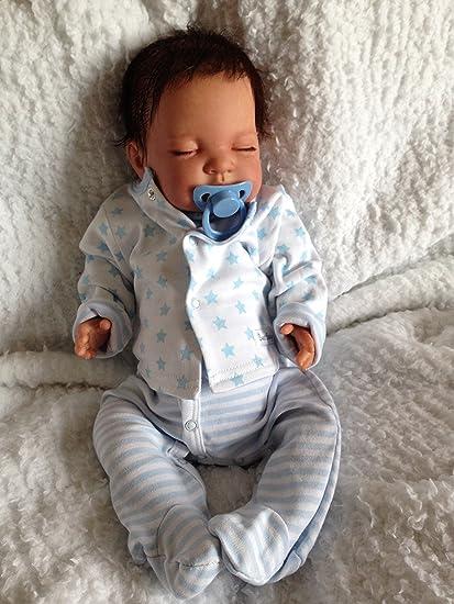 Amazon.es: Reborn bebé muñeca, Heavy, 20 cm de largo, con ...