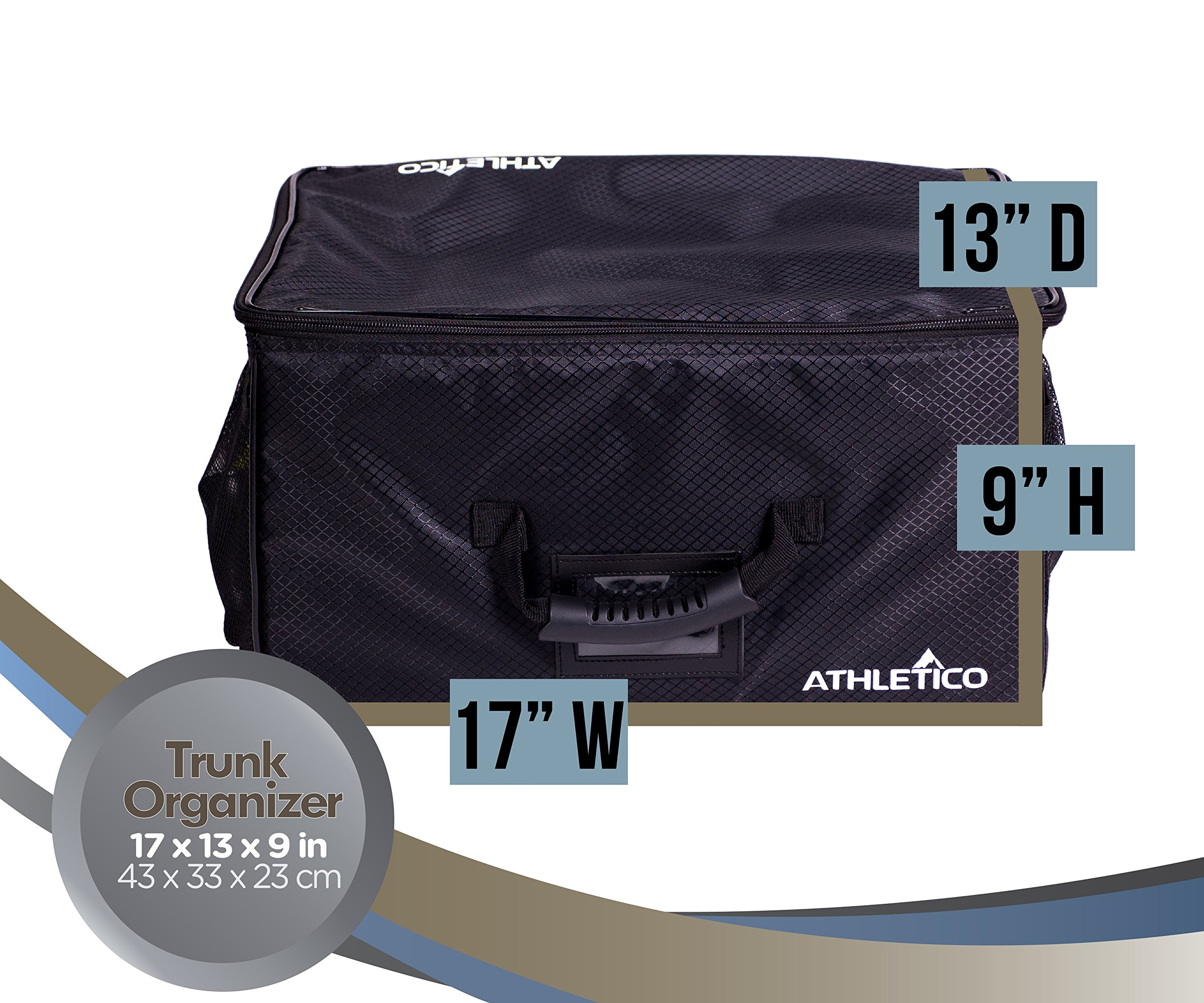 Athletico Golf Trunk Organizer Storage - Car Golf Locker To Store Golf Accessories | Collapsible When Not In Use by Athletico (Image #4)