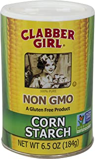 product image for Clabber Girl Non-Gmo Corn Starch, 6.5 Ounce (Pack of 12)