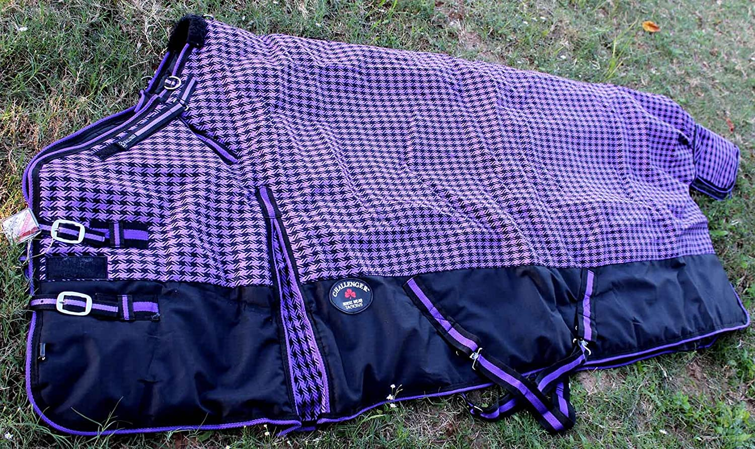 68 inches 1200D Turnout Waterproof Horse Winter Blanket Heavy 525G