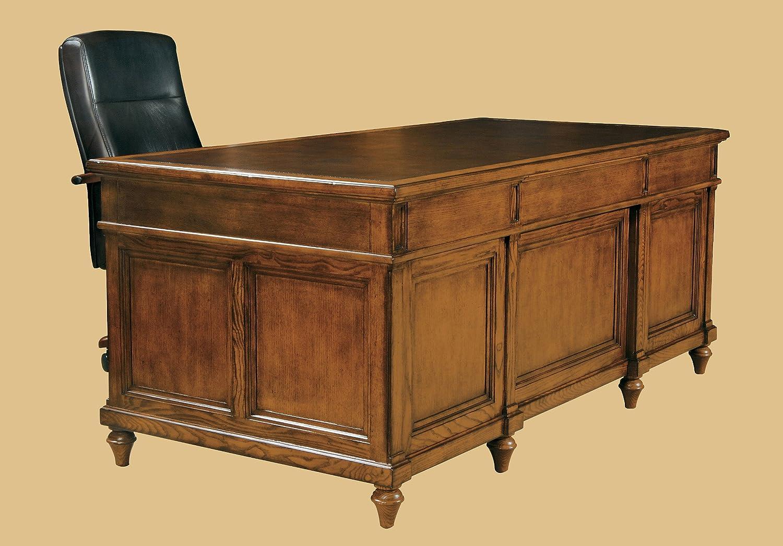 Great Amazon.com: Hekman Furniture Executive Desk In Urban Ash Burl Finish    7 9100: Kitchen U0026 Dining