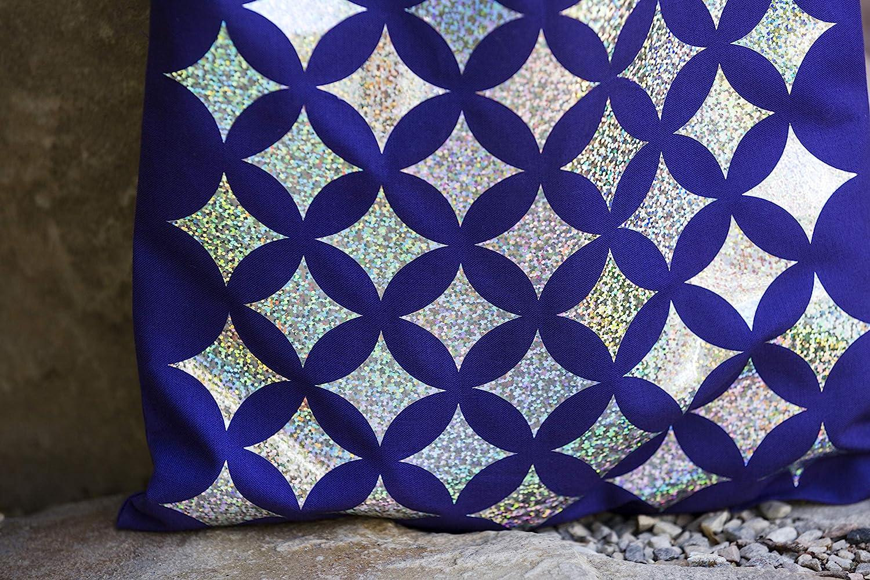 Blue Cricut Holographic Sparkle Vinyl