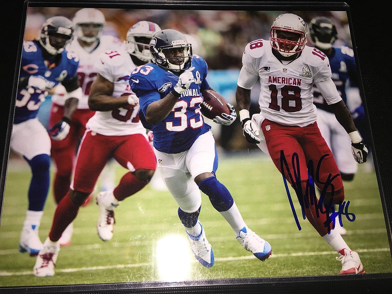 Matthew Slater autographed 8x10 Pro Bowl photo at Amazon's ...