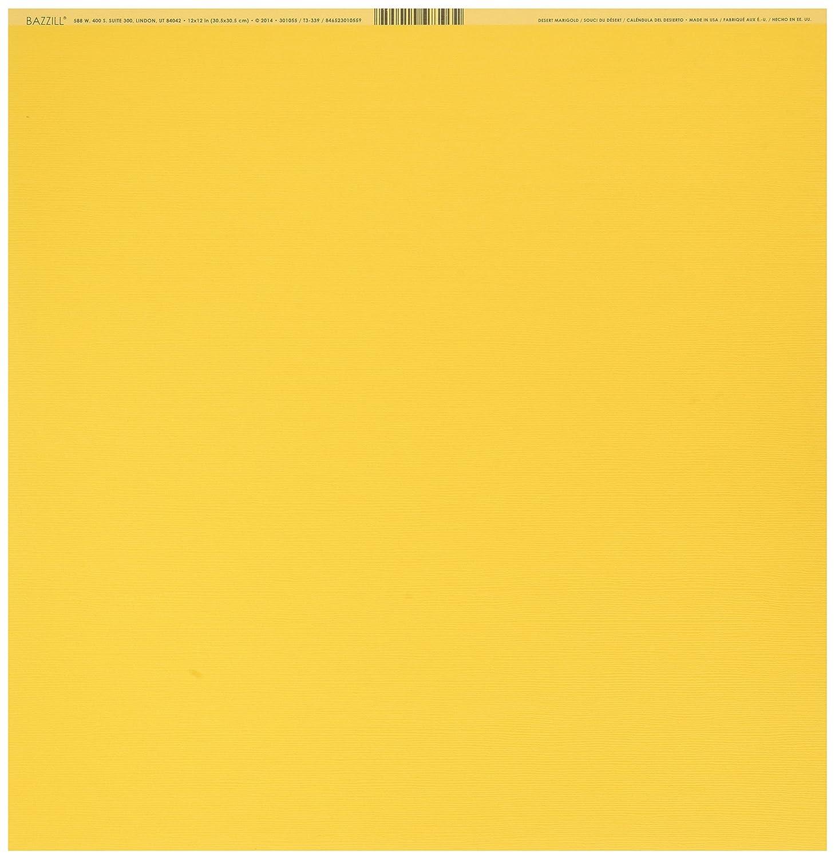 Bazzill Cardstock 12X12-Spring Breeze//Grass Cloth 25 per Pack