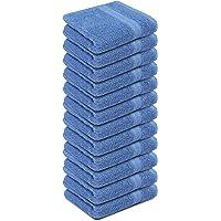 Toalla de algodón de 30,5 x 30,5 cm, paquete de 12 unidades, 100% hilado en anillo, 700 g/m², calidad premium, muy…
