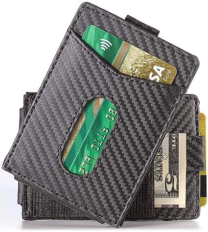 702c27e2e044 Amazon.com: Urban Tribe Slim Money Clip Wallet EDC Front Pocket Card ...