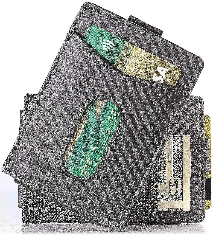 Slim Money Clip Wallet EDC Front Pocket Card Holder Minimalist RFID Sleeve Wallet Urban Tribe