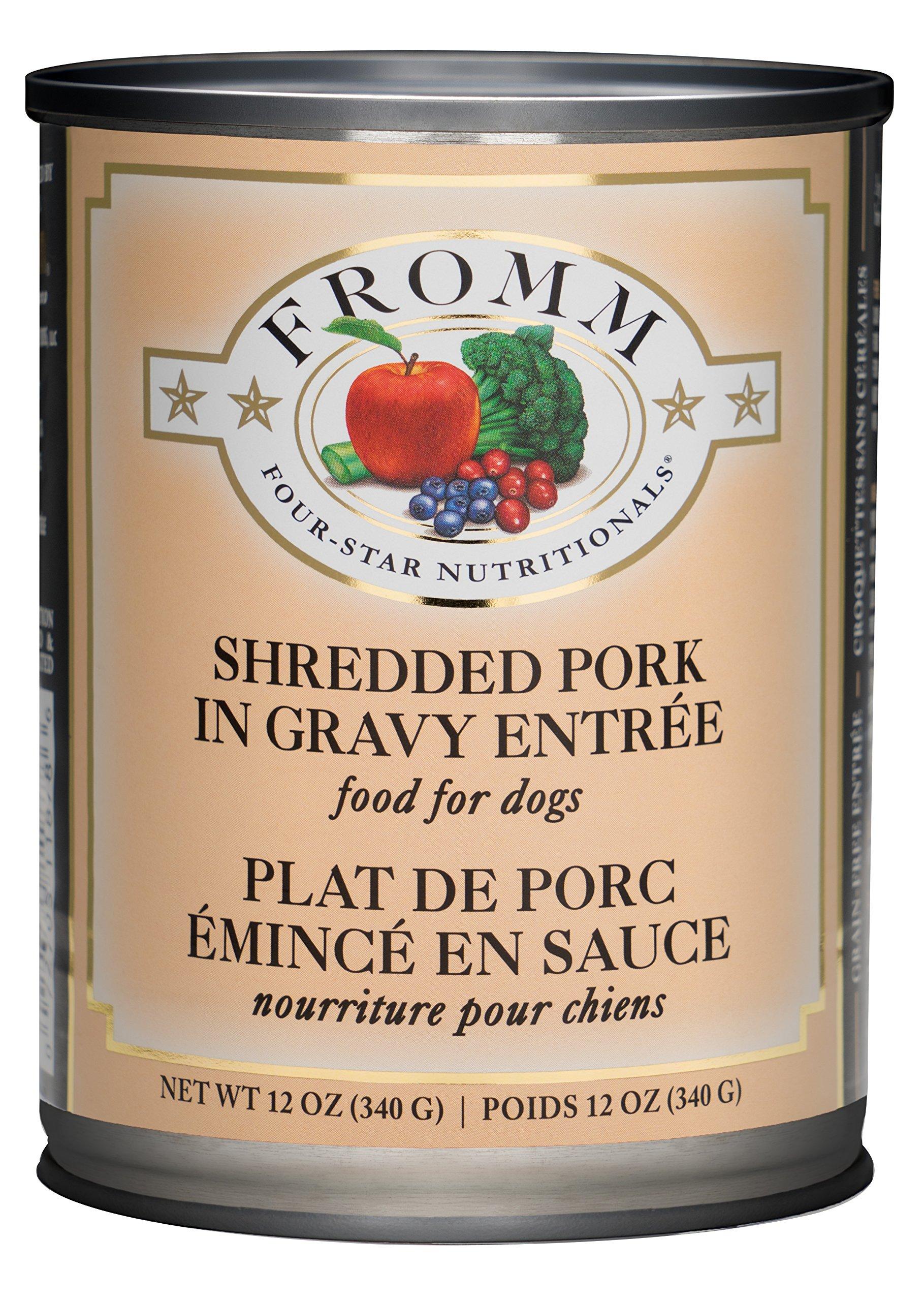 Fromm Pork in Gravy 12/12oz cans