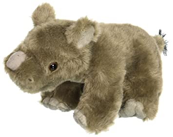 "Wild Republic CK- Mini Rhino Baby 8"" Animal Plush"