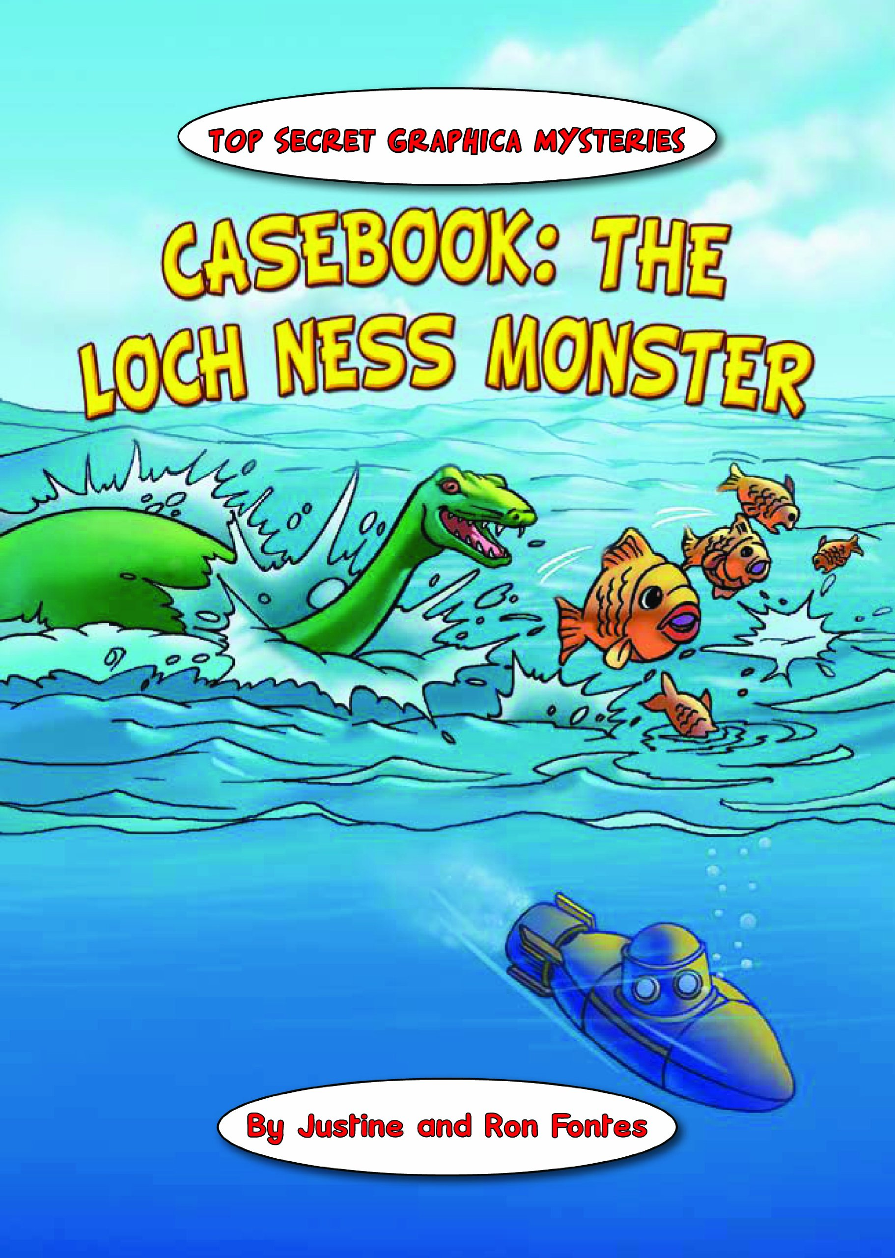 Casebook: The Loch Ness Monster (Top Secret Graphica Mysteries) PDF