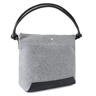 Amazon.com: The Lovely Tote Co. - Bolso de mano con ...