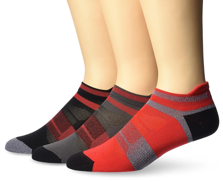ASICS Quick Lyte Cushion Single Tab Running Socks (3 Pack) ASICS Sports Apparel ZK3182-P