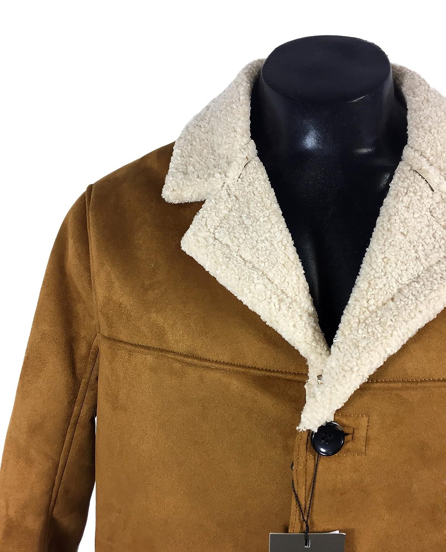 Zara - Abrigo - para hombre marrón marrón XXL: Amazon.es: Ropa y accesorios