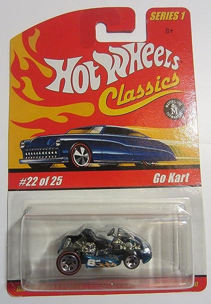 Amazon com: Go Kart Hot Wheels Classics Series 1 - Blue 22
