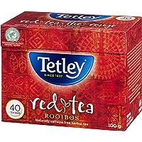 Tetley Rooibos (Red )Herbal Tea, 40 Count